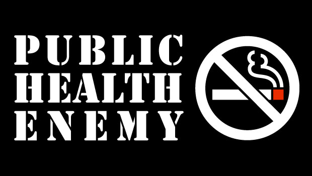Public health enemy no. 1: Symbol to ban cigarettes
